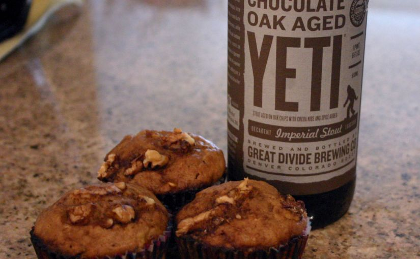Chocolate Yeti Banana Bread Muffins