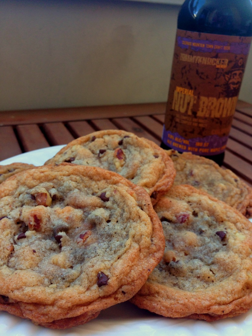 Bacon, Walnut, Chocolate Chip Cookie with Imperial Nut Brown