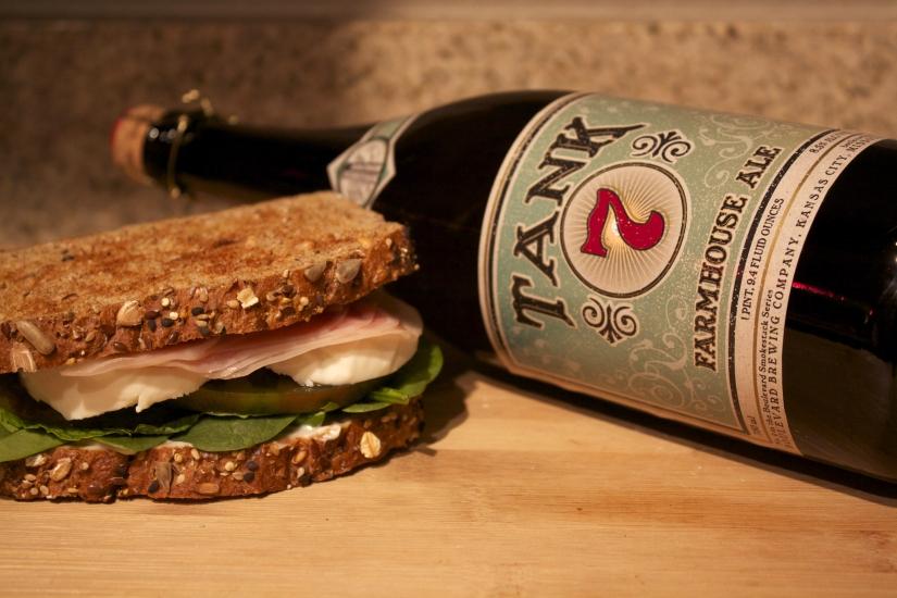 Pancetta Mint Sandwich