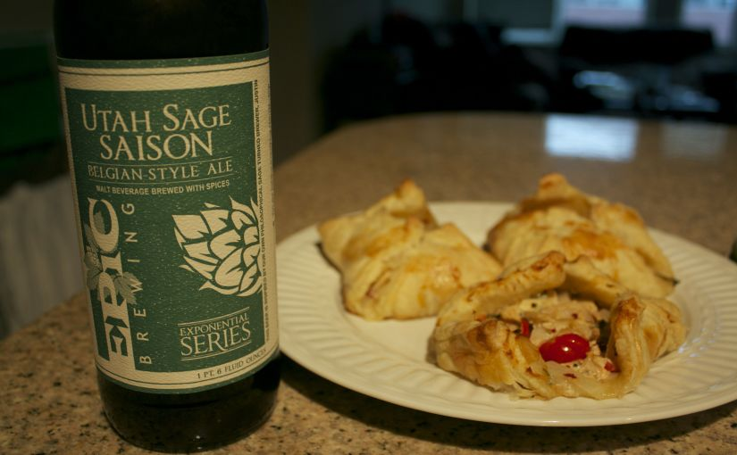 Sage Chicken Puff Pastries