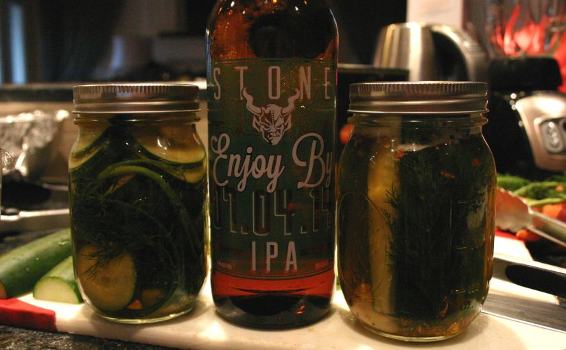 Stone Cold IPA Pickles