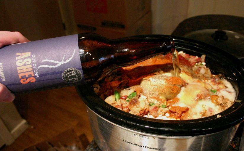 Cooking with Beer | Rauchbier BakedBeans