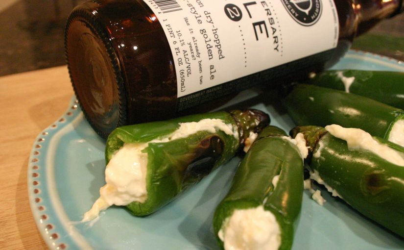 Pineapple Cream Cheese Stuffed Jalapeños