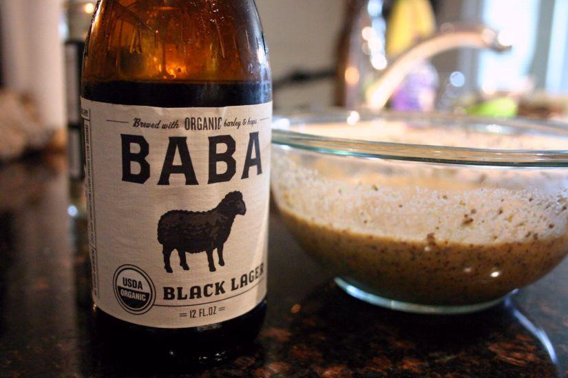 Baba Black Lager Mustard