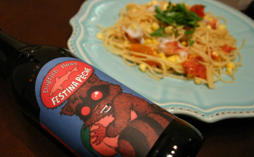 Cooking with Beer | Festina Pêche Lobster Pasta