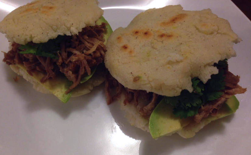 Colorado Mojo Pork Arepas