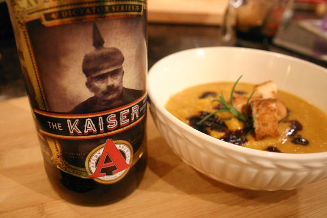 Kaiser Butternut Squash Soup