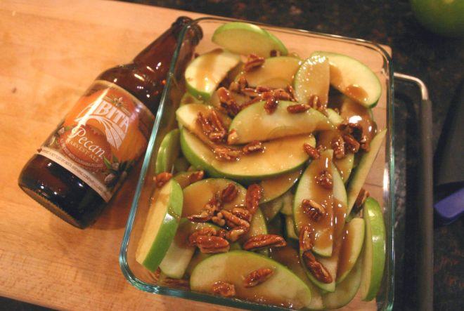 Pecan Caramel Apple Crisp