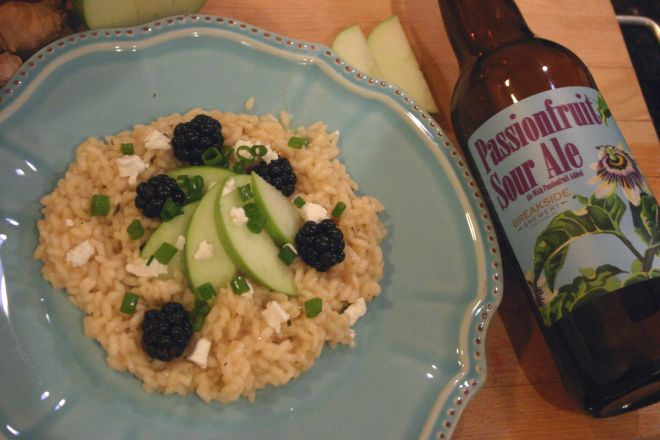 Drink an Spoon Passionate Risotto