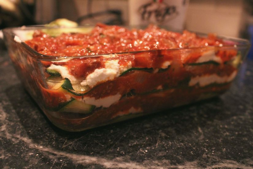 Brown Ale Marinara + ZucchiniLasagna
