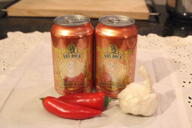 Apricot Sweet Chili Sauce : Dry Dock Brewing Collaboration