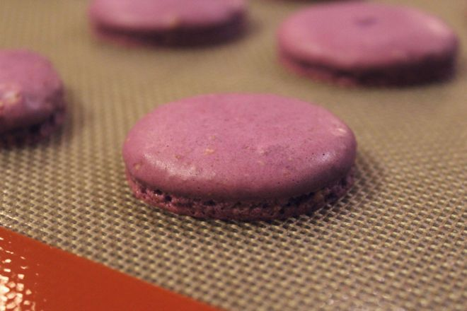 Drink and Spoon Birthday Macarons